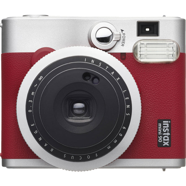 FUJIFILM INSTAX Mini 90 Neo Classic Instant Camera (Red)