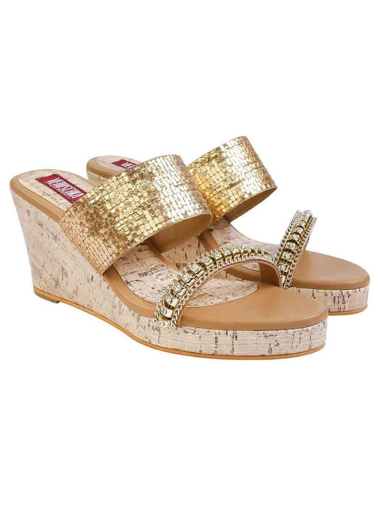 Gold Nile Wedges