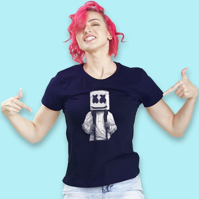 Dj Marshmello T-Shirt For Girls