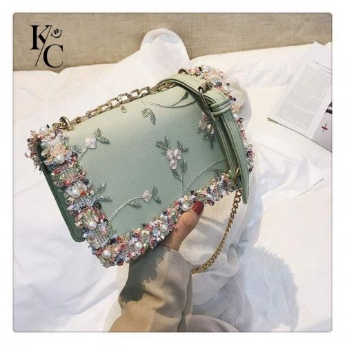 Flower Women Messenger Bag