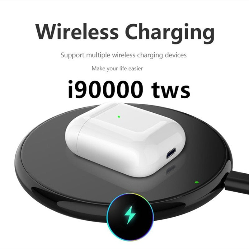 i90000 pop-up TWS Wireless Headset Air 2 with Charging Case Bluetooth 5.0 Earbuds Earphone Headset PK i2000 i5000 i9000TWS