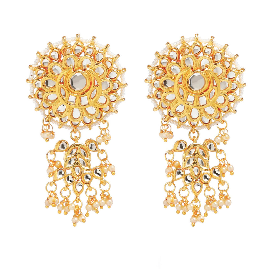 Imli Street Women Artificial Jewellery Kundan Earring For Womens