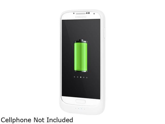 Incipio OffGrid Thin Battery Case for Samsung Galaxy S4 - White