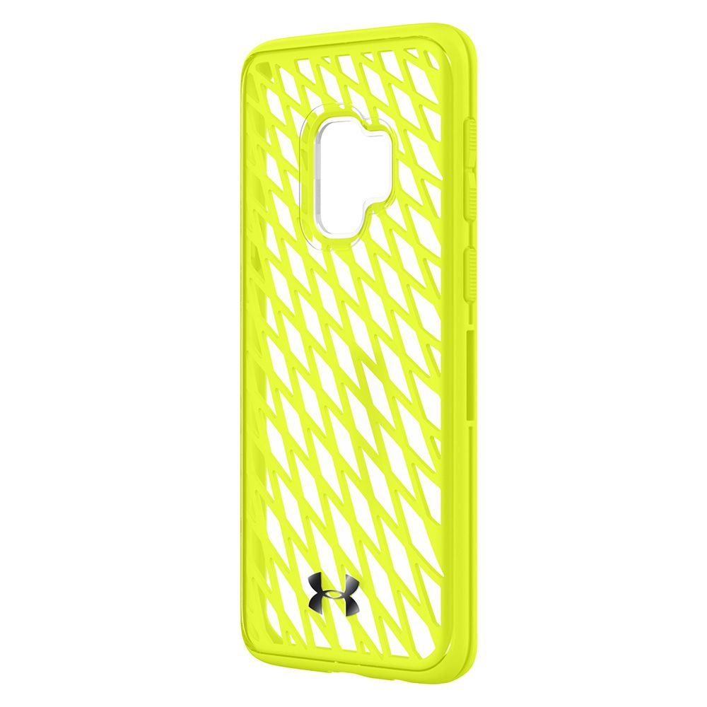 INCIPIO SAMSUNG GALAXY S9 UNDER ARMOUR UA PROTECT INNER STRENGTH CASE - QUIRKY LIME / CLEAR