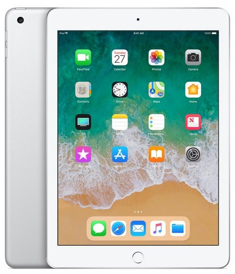 Apple iPad 6  -  32GB WiFi with Facetime (2018) Silver