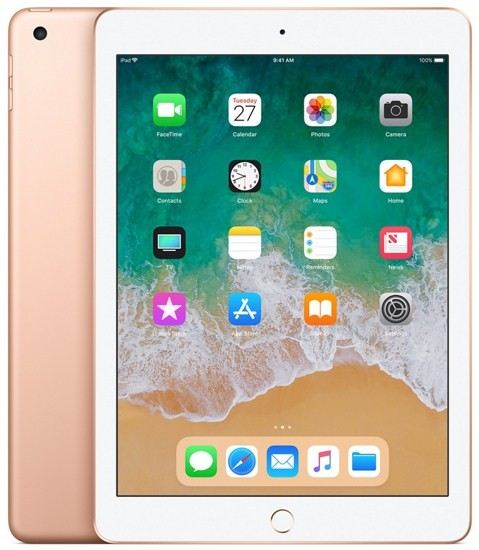 Apple iPad 6 32GB with 4G Facetime (2018) Gold