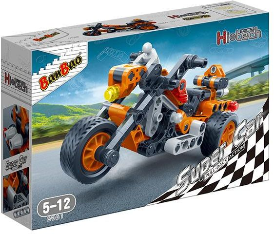 BanBao Super Car Bullet Racer - 6961 - 118 Pieces