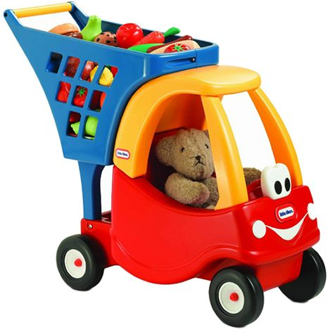Little Tikes Cozy Shopping Cart, Multi