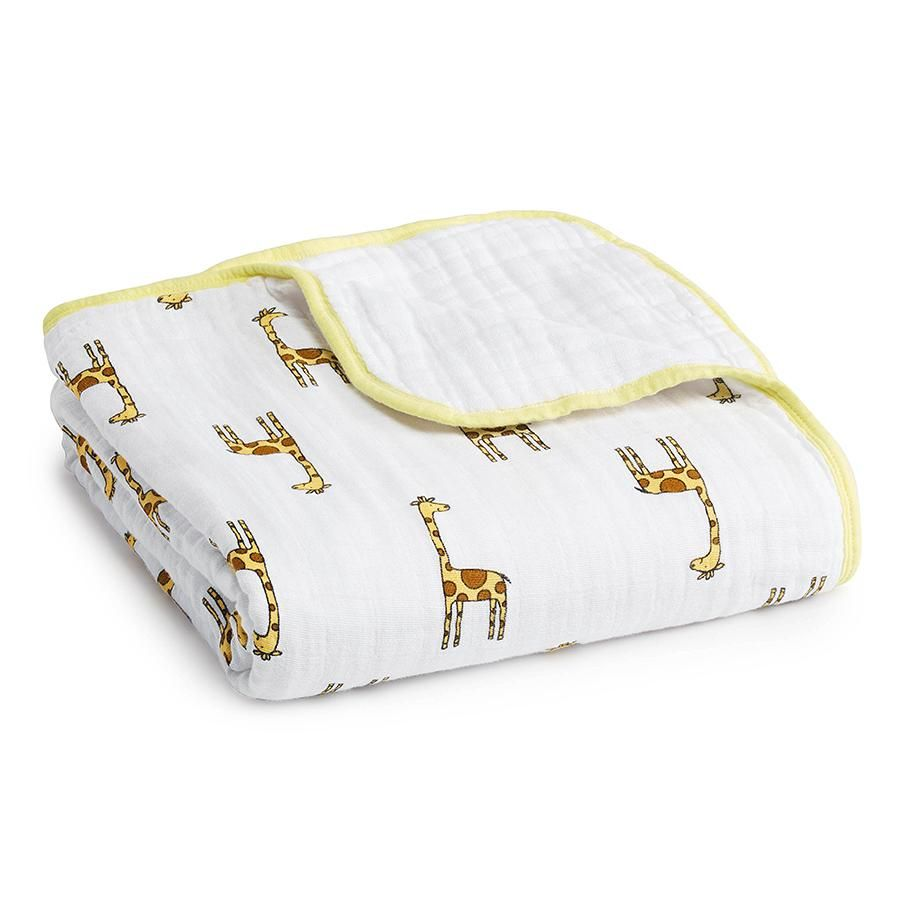 Aden And Anais Dream Blanket - Jungle Jam/ Giraffe