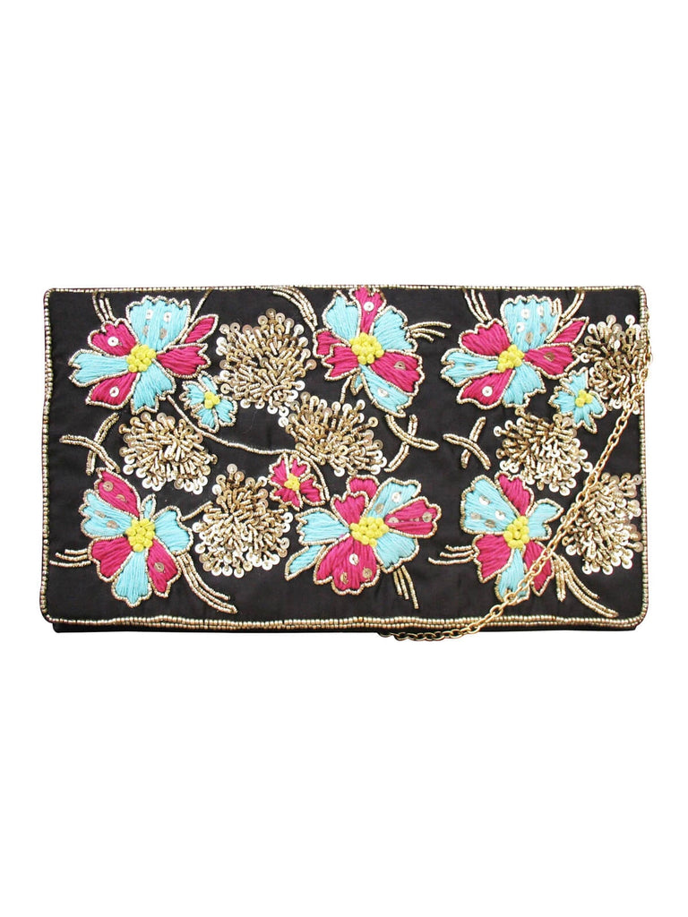 Black Kyoto Clutch