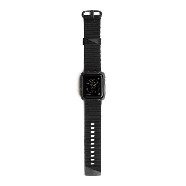 Lander Moab Case With Nylon Armband for Apple Watch 44mm - Black