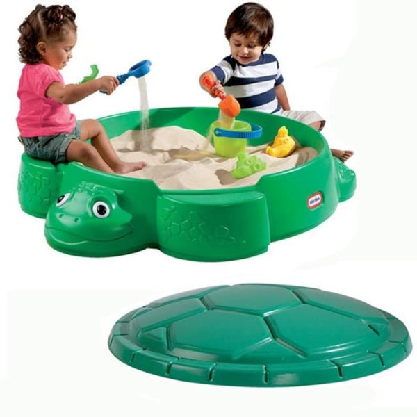 Little Tikes Turtle Sandbox, Green