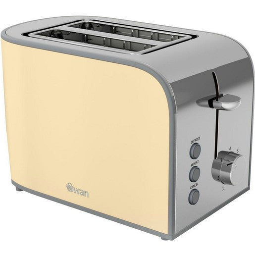 Swan 2 Slice Toaster ST17020 Assorted Colors 1 Piece