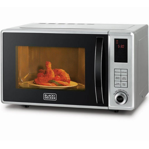 Black+Decker Microwave Oven With Grill MZ2310PG 23Ltr
