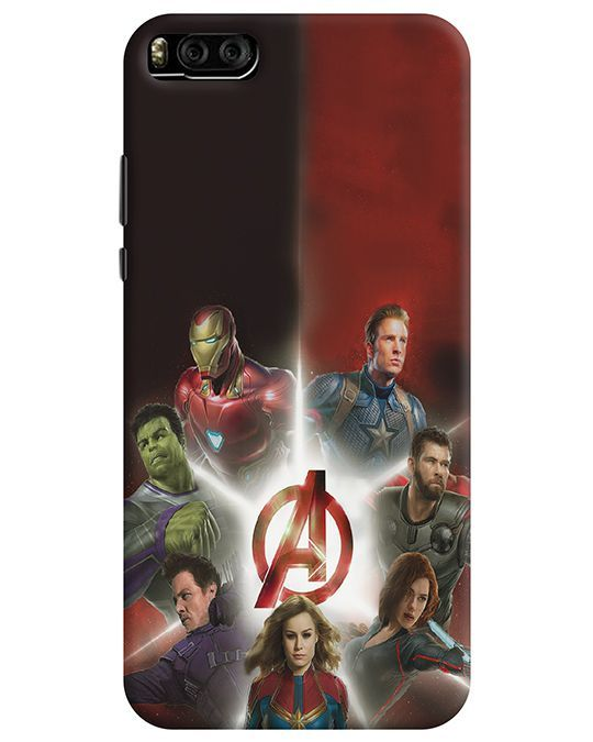 AVENGER TEAM MI 6 BACK COVER