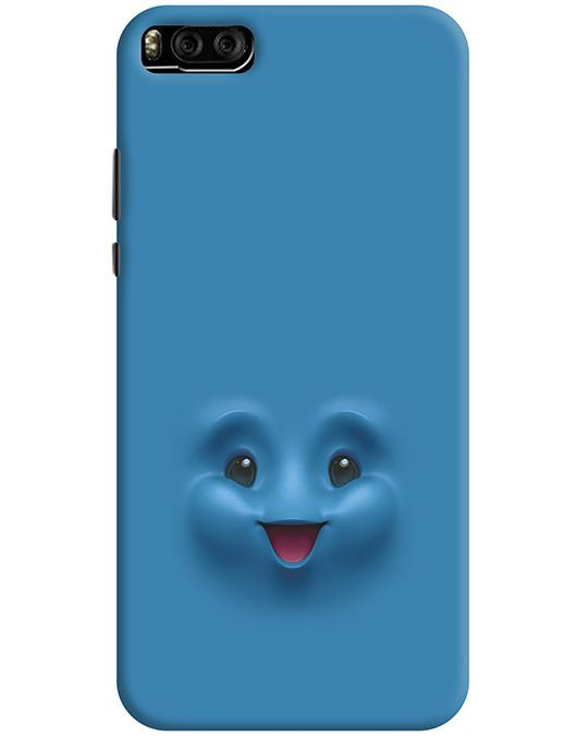 CUTE SMILE MI 6 MOBILE COVER