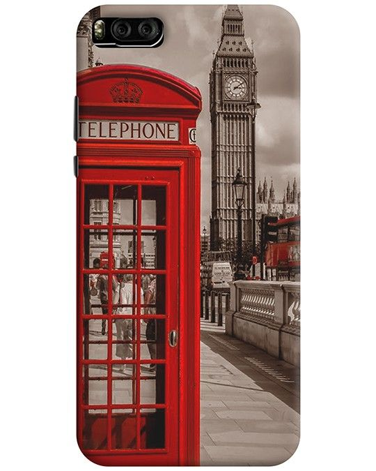 TELEPHONE BOOTH MI 6 MOBILE COVER