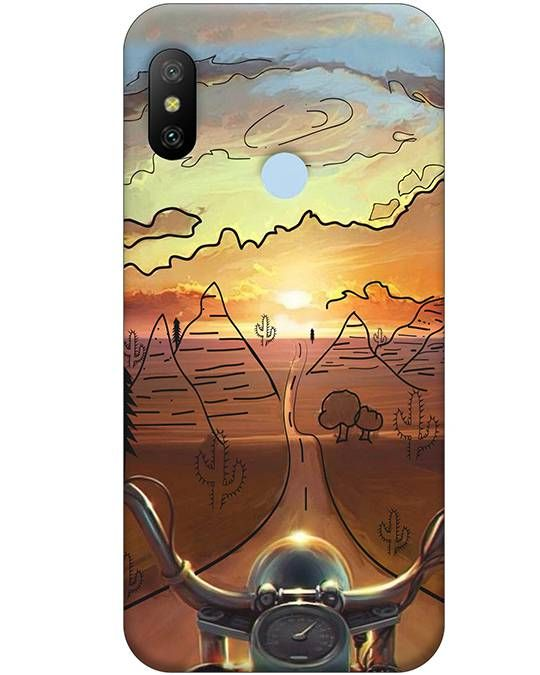 Bike Ride Mi A2 Mobile Cover