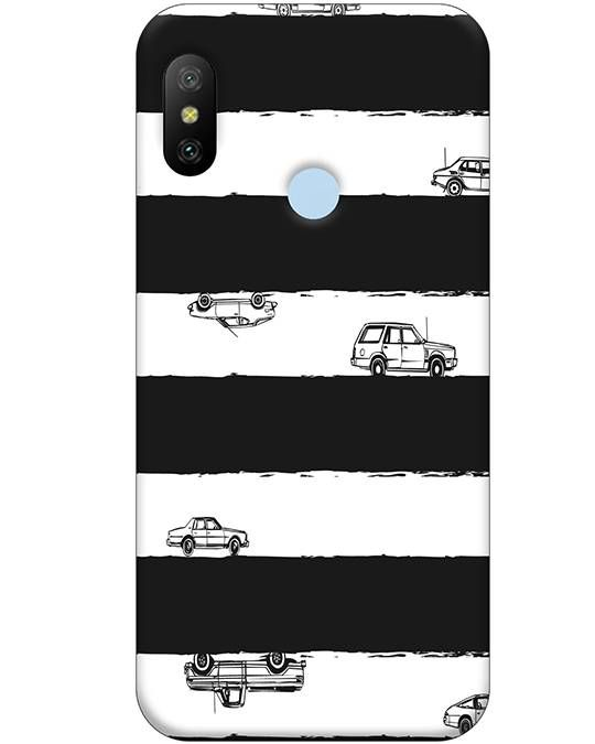 Cars Mi A2 Mobile Cover