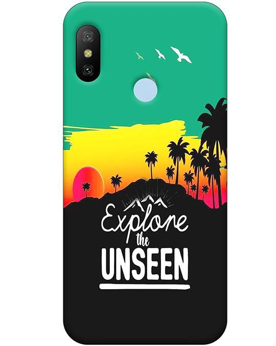 Explore The Unseen Mi A2 Mobile Cover