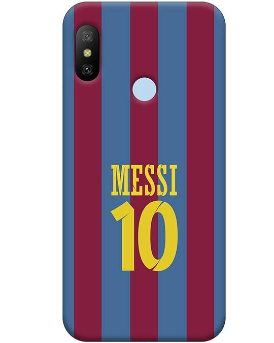 Messy Jersey Mi A2 Mobile Cover