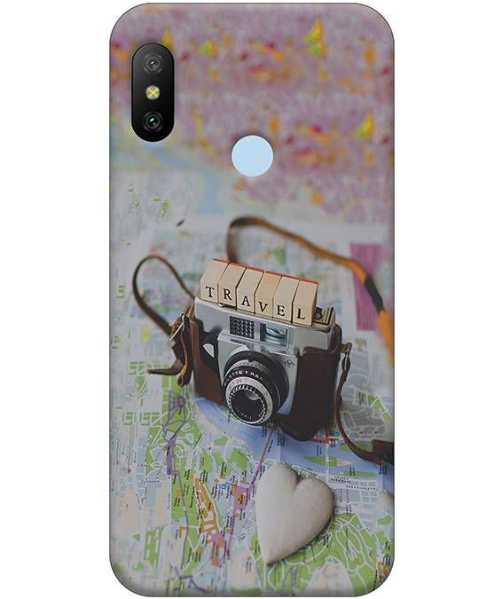 Travel Mi A2 Mobile Cover