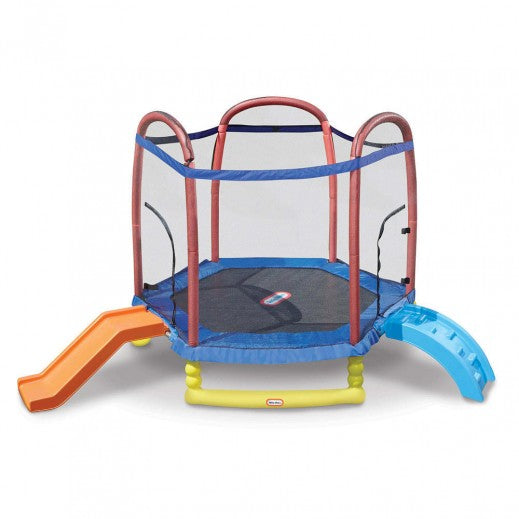 Little Tikes 7 ft climb & slide Trampoline