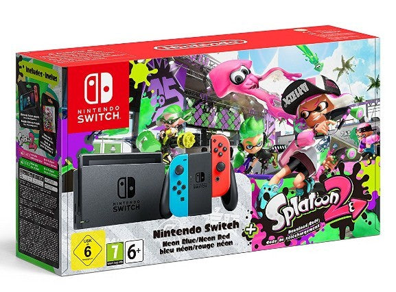 Nintendo Switch Splatoon 2 Edition Bundle