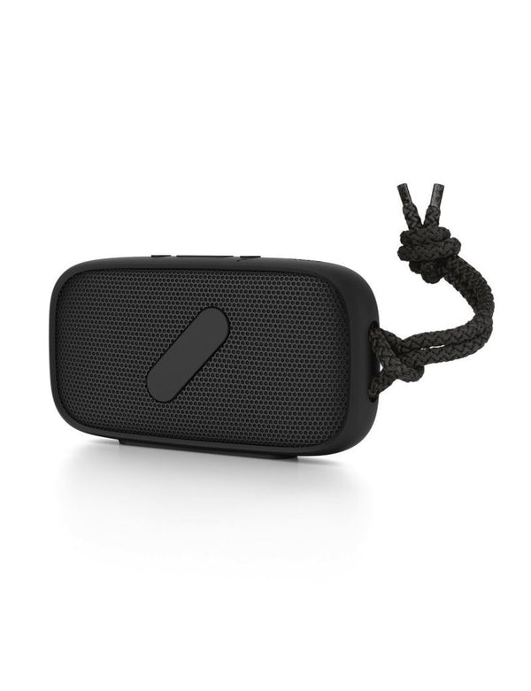 NudeAudio Super-M Portable Wireless Bluetooth Speaker- Black