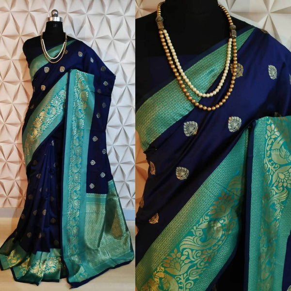 Soft Banarasi Cotton Silk Saree