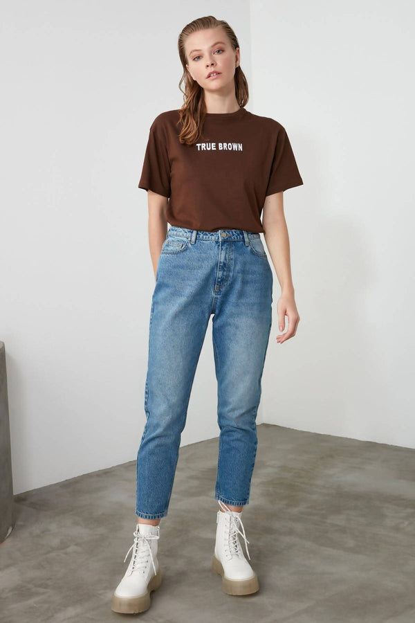 Trendyol High Bel Mom Jeans