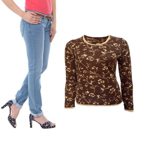 Offer On Pullover Sweater & Jeans
