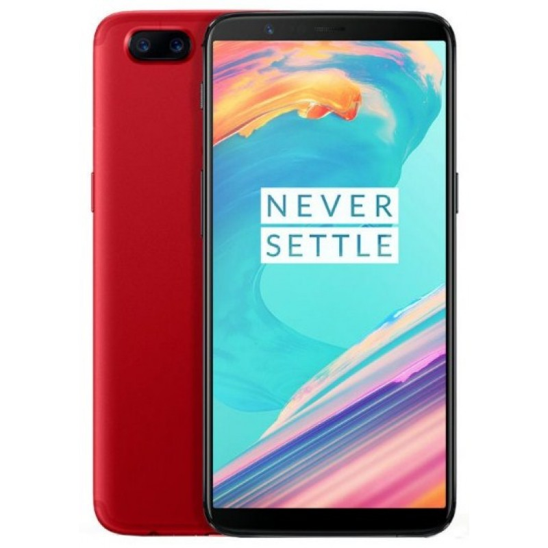 OnePlus 5T Dual Sim 128GB/8GB RAM Lava Red Special Edition