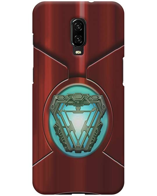 Arc Reactor Oneplus 6T Back Cover