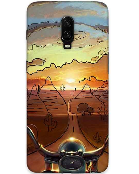 Bike Ride Oneplus 6T Back Cover