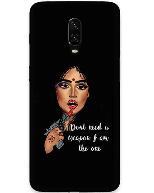 Makeup Oneplus 6T Mobile Cover