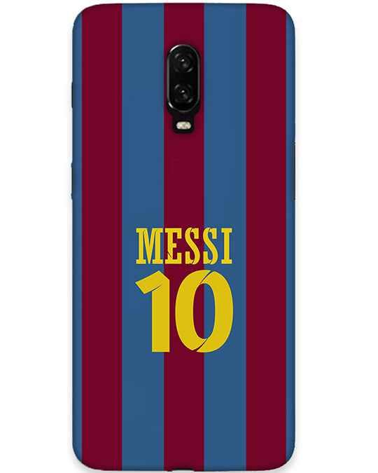 Messy Jersey Oneplus 6T Mobile Cover