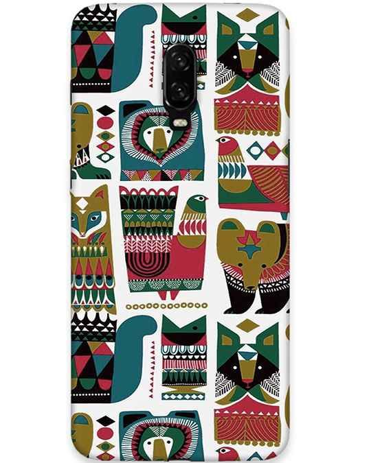 Modern Art Oneplus 6T Mobile Cover