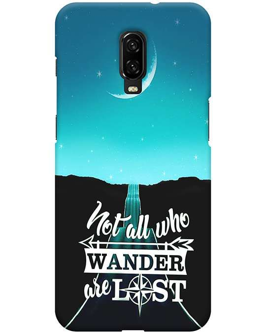 Not All Who Wander Oneplus 6T Back Cover