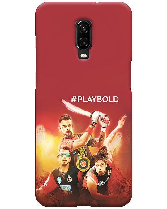 Play Bold Oneplus 6T Back Cover