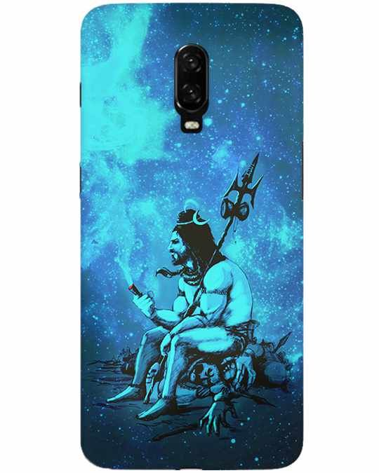 Mahadev With Chilam Oneplus 6T Back Cover
