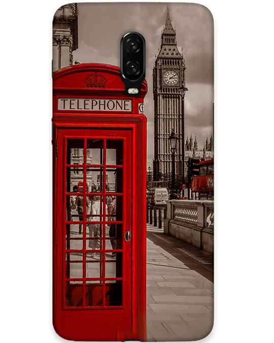Telephone Booth Oneplus 6T Mobile Cover