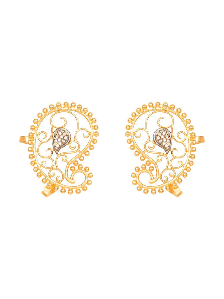 Paisely Ear Cuffs