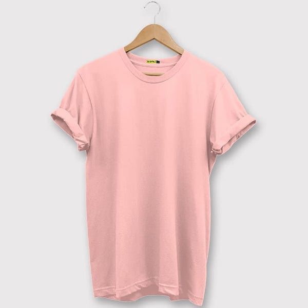 Plain Rose Pink T-Shirt