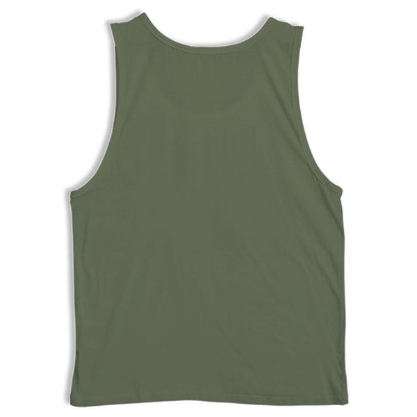 Plain Army Green Sleeveless Vest