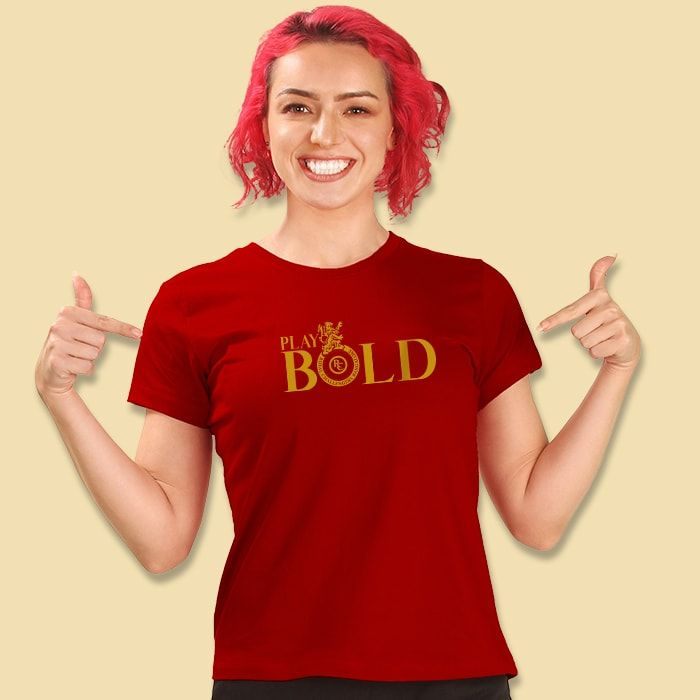 Play Bold T-Shirt For Girls