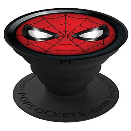 POPSOCKETS DEVICE STAND AND GRIP - SPIDERMAN ICON