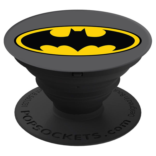 PopSockets Justice League Device Stand and Grip - Batman Icon