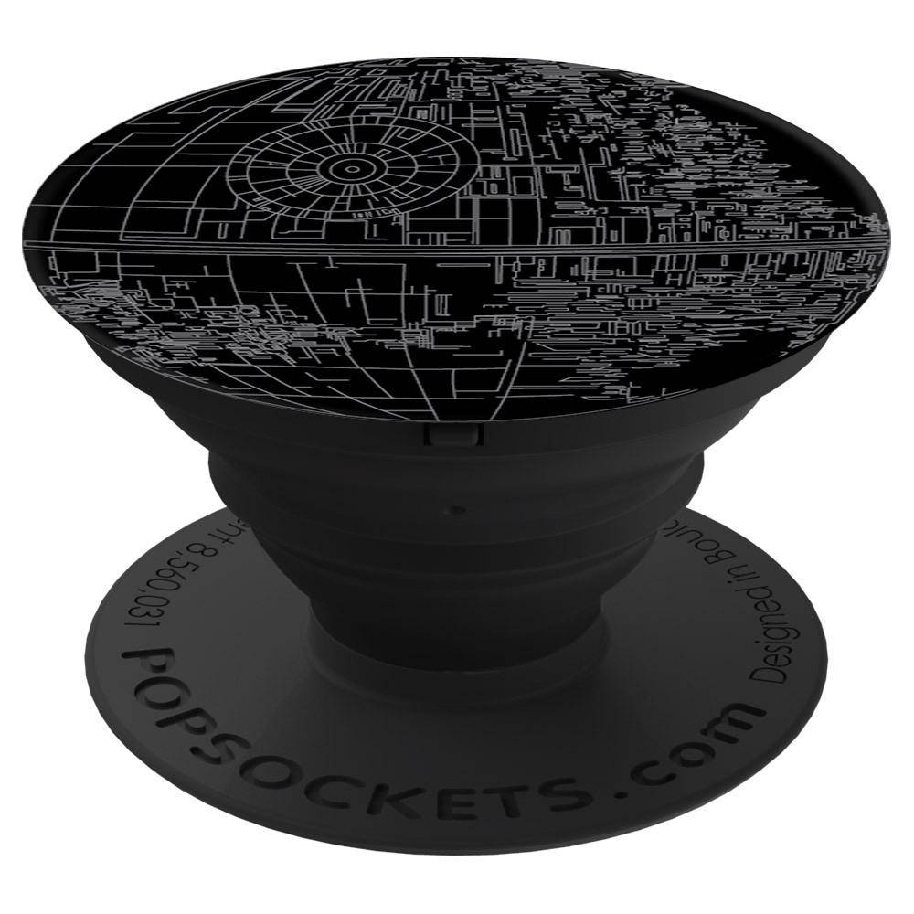 PopSockets Star Wars Device Stand and Grip - Death Star