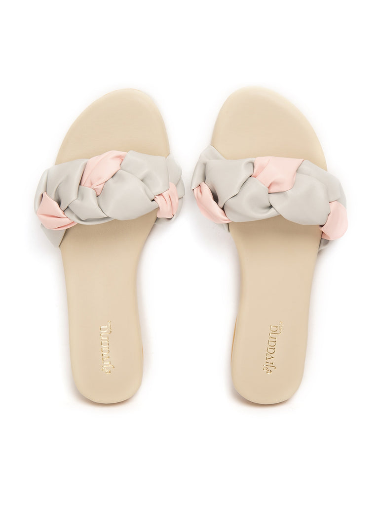 Wafer Peach Pink Flats